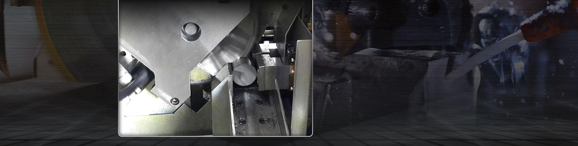 Auf die Länge schneiden Stahlstangenservice