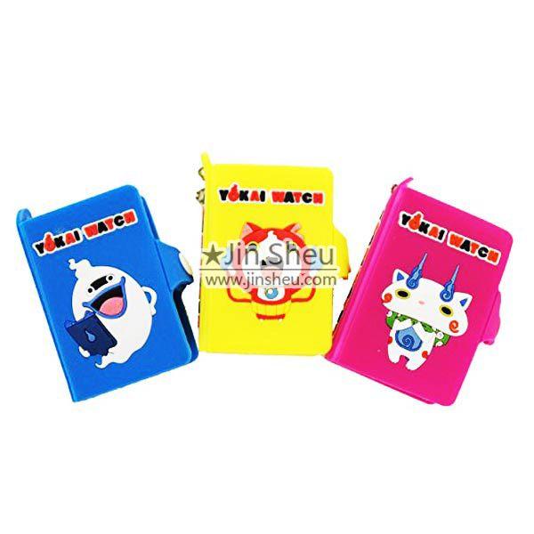 Custom Rubber Cover Pocket Notebooks