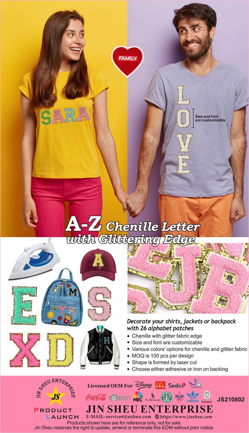 Chenille Letters Wholesale