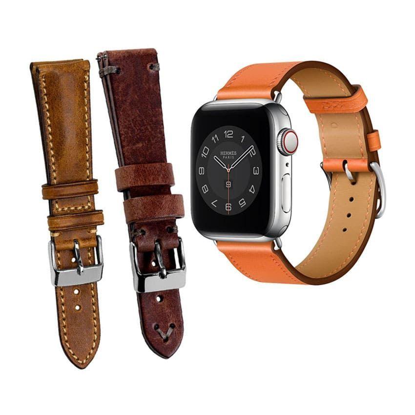 Leather Wrist Watch Band