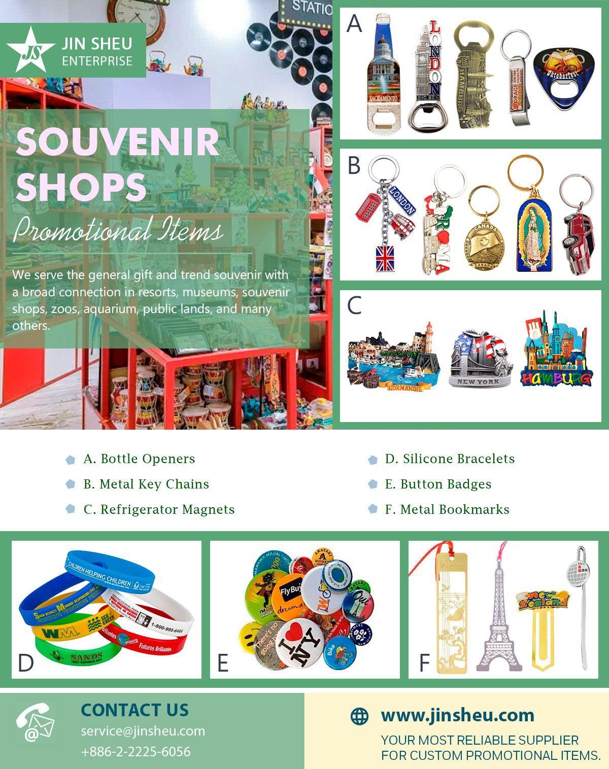 Promotional Items for Souvenir Shops