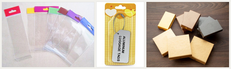 Aluminum Luggage Tags packing