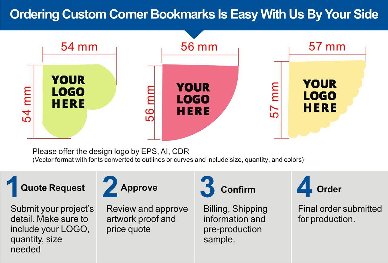 Custom embossed leather bookmarks