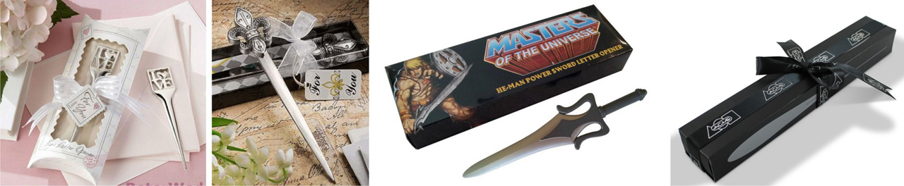 metal Letter Openers gift box