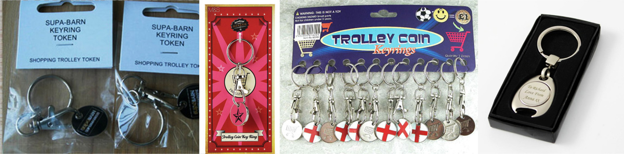 metal trolley coins gift box