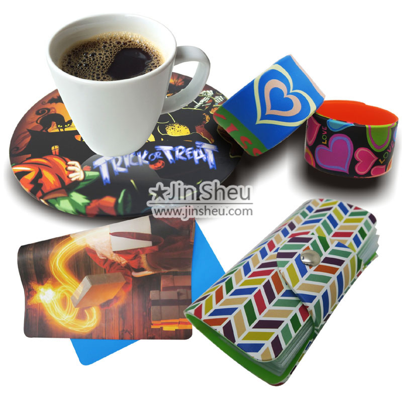 Colourful In-mold Transfer Printing Silicone Products