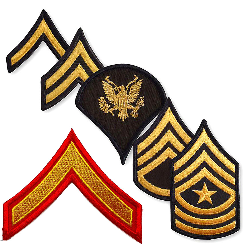 Custom Rank Chevrons