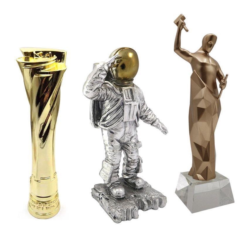 custom polyresin sculpture awards