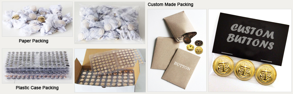 metal buttons packing