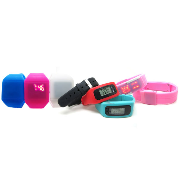 LED silicone watches