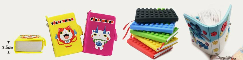 rubber cover notebooks