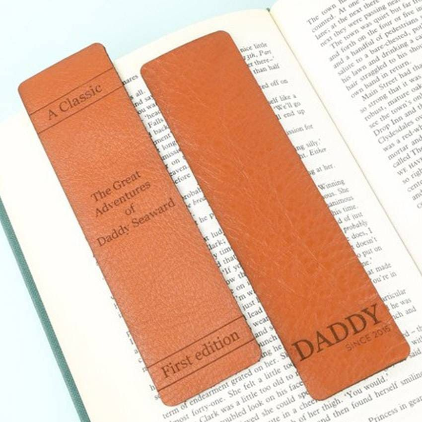 Leather Bookmarks   Promotional Products & Items