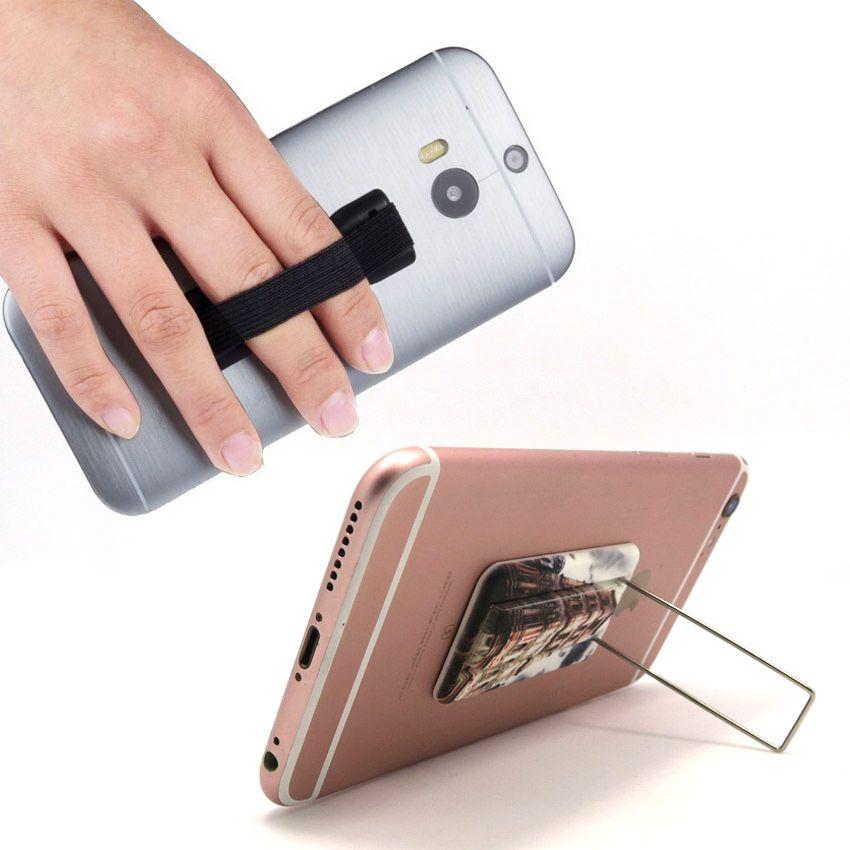Elastic Finger Grip Phone Holder