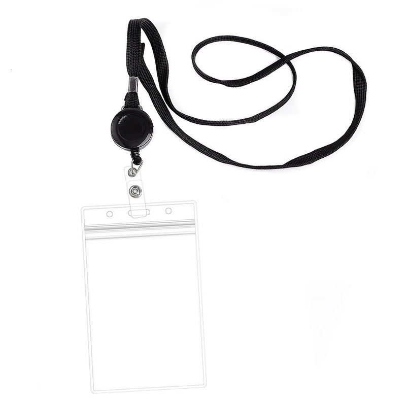 Retractable Card Holder Lanyard