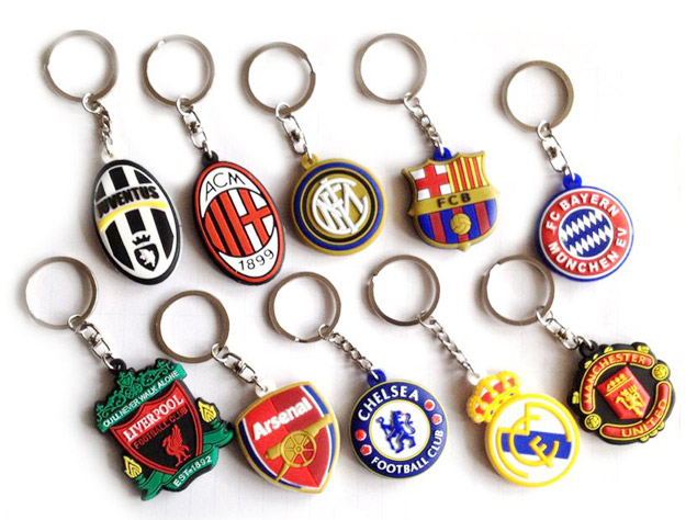 Promotional Rubber Keychains