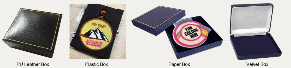 rubber medal package methods