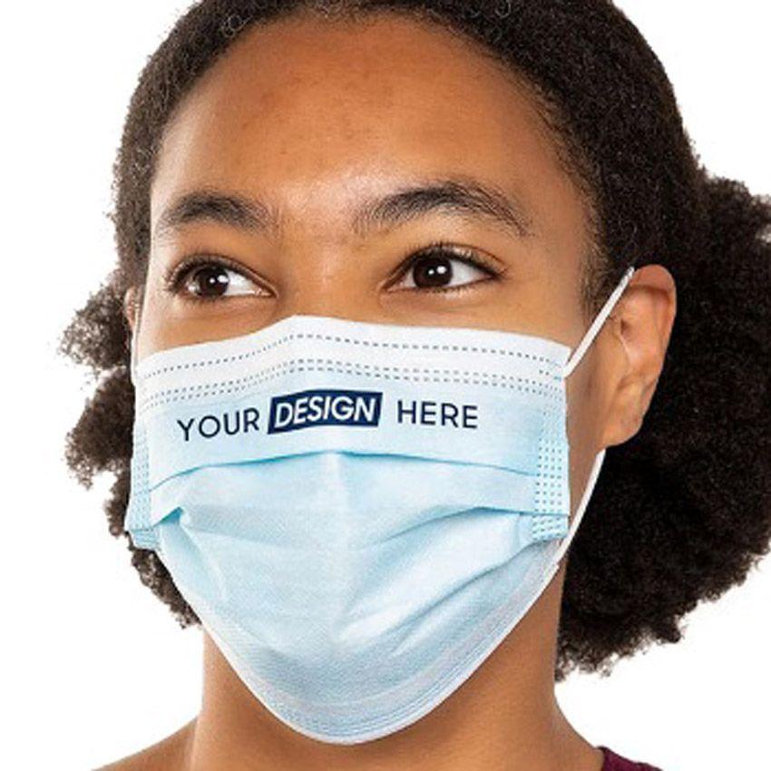Disposable 3-layer Non-Woven Face Mask
