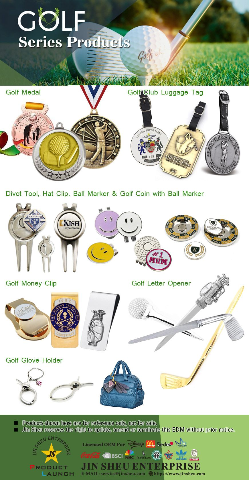 Custom golf presents