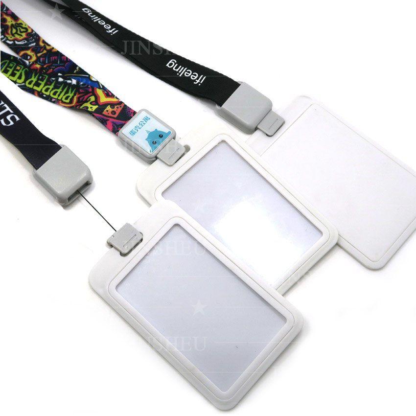Retractable Card Holder Lanyard