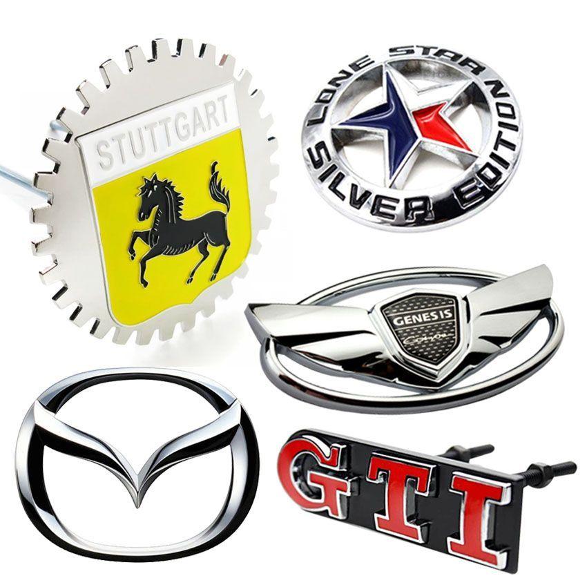 Custom Made Metal Car Badge Emblems