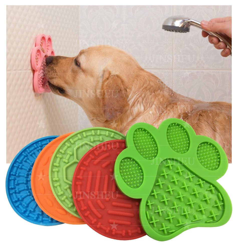 Silicone Dog Slow Feed Lick Pads