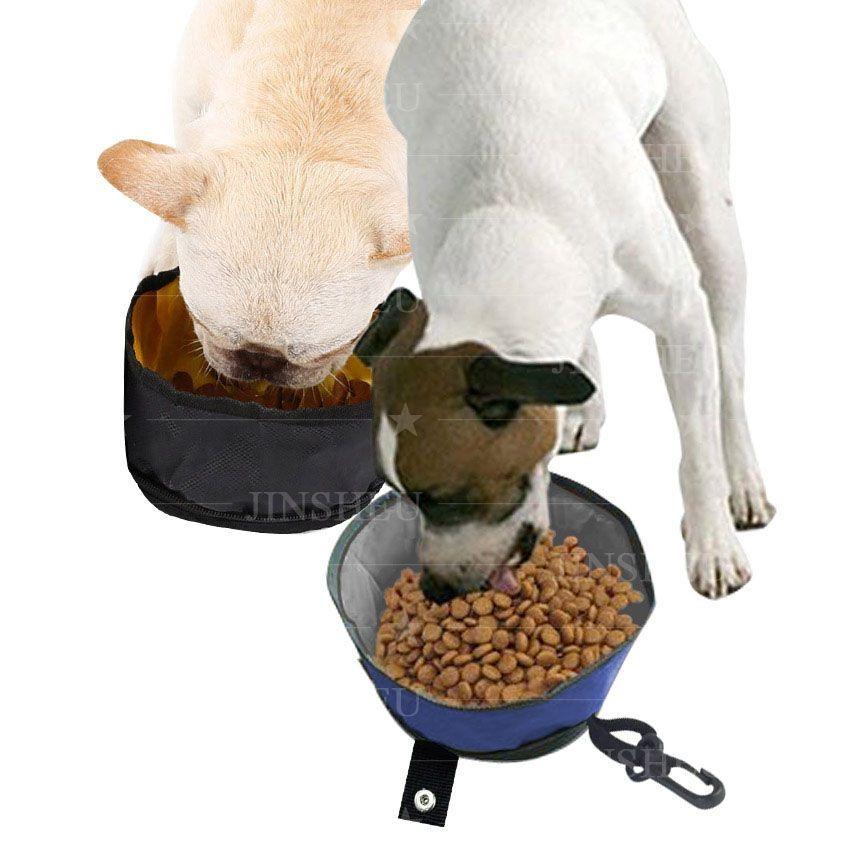Waterproof Food Water Folding Pet Bowl
