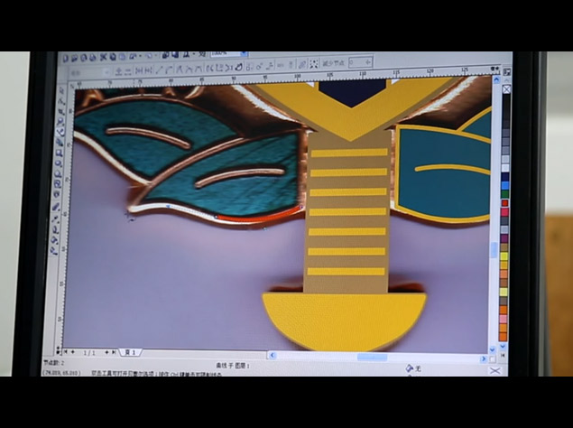 Artwork Preparing for custom lapel pin