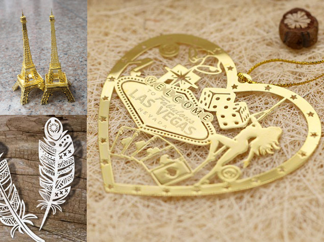 Metal Emblems made by Photo Etching
