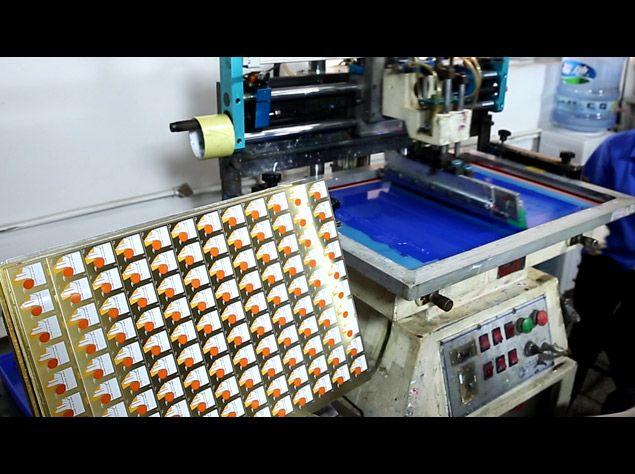 Offset & Silkscreen Printing for lapel pins