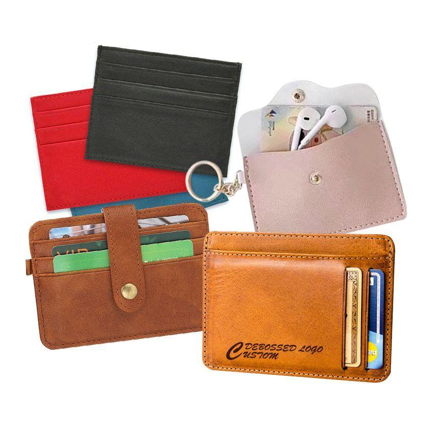 Custom Leather Name Card Holders