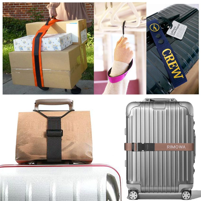 custom luggage belts, package carry straps and more