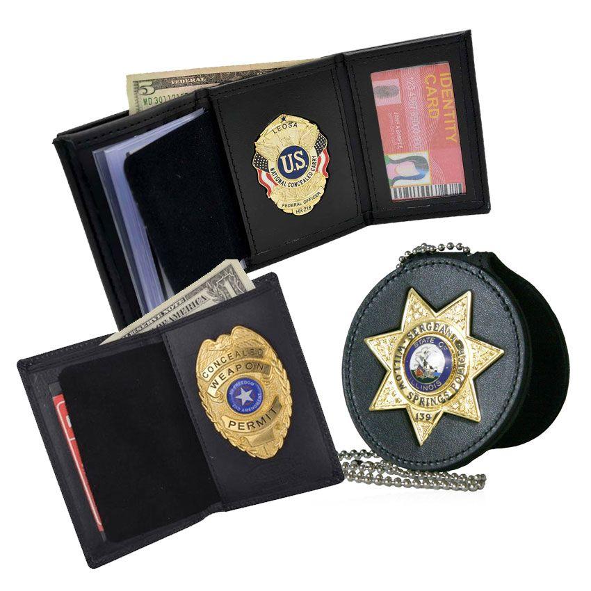 Tailor Made Metal Badge Wallet