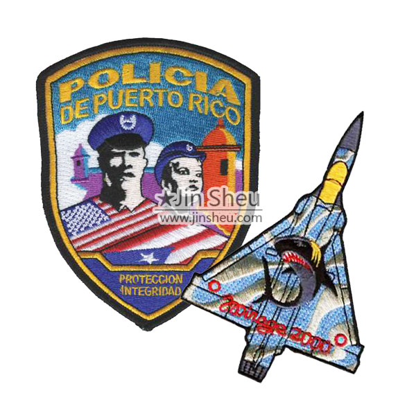 Custom Military and Police Patches