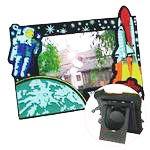 Multicolor PVC Photo Frames