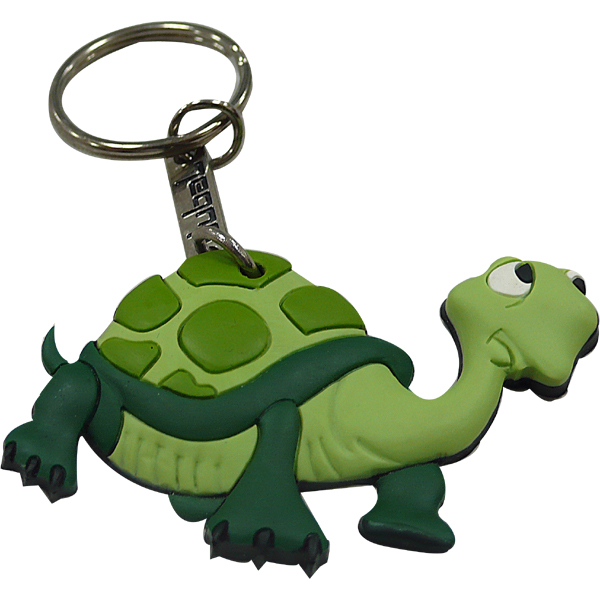 Personalized Rubber Keyrings