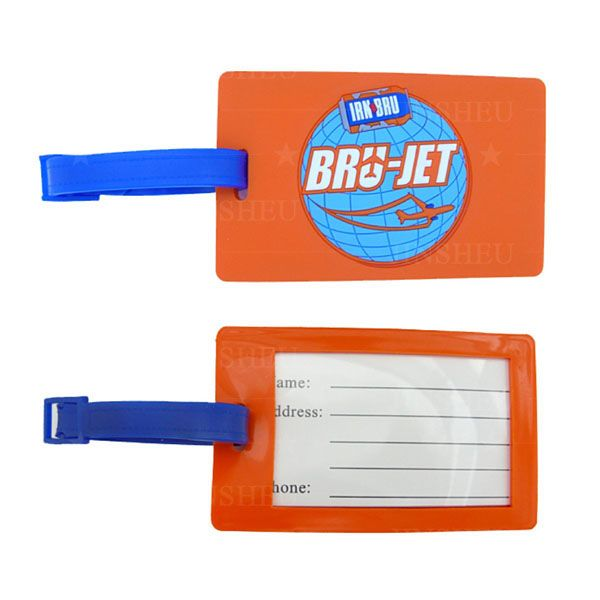Customized Rubber PVC Luggage Tag