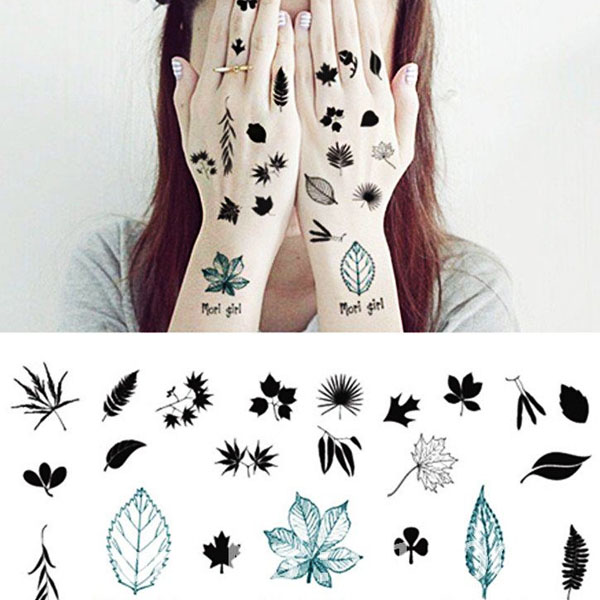 Fashionable water transfer tattoo stickers