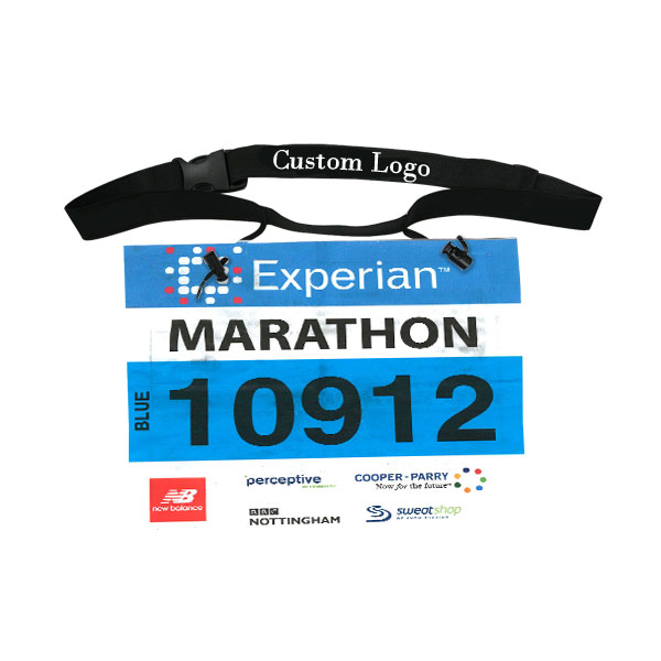 Running Race Number Belt