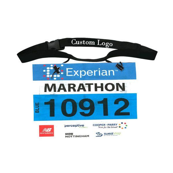 Running Race Number Belt