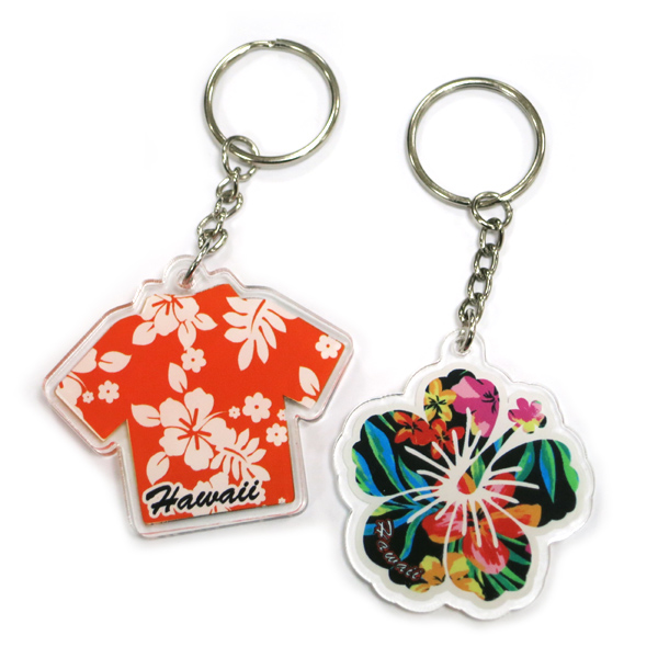 custom printing acrylic key chains