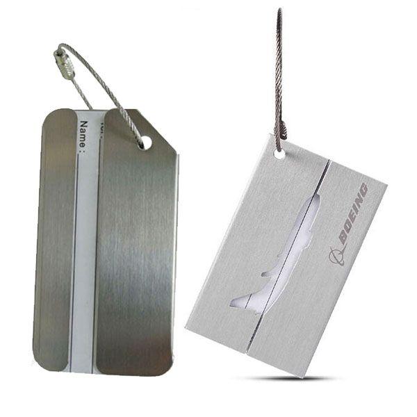 Aluminum Luggage Tags