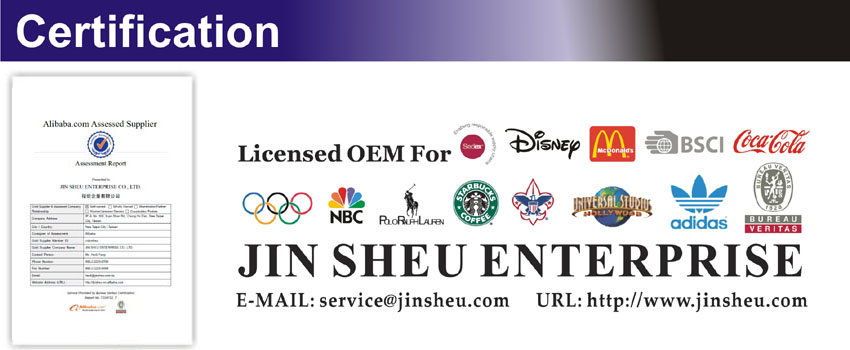 jin sheu certification