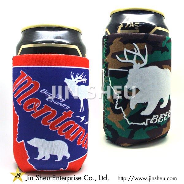 Custom Neoprene Can Coolers