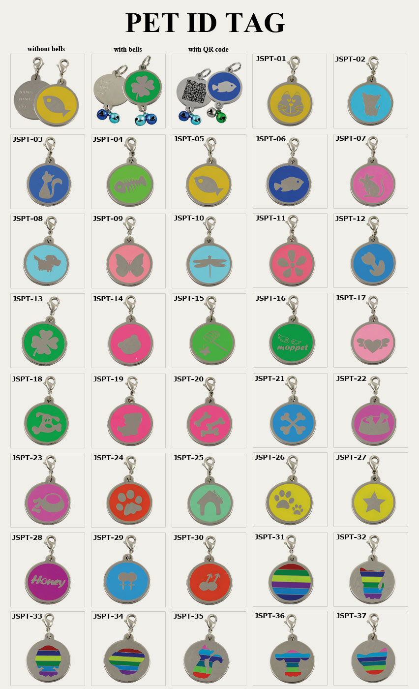 id tags for dogs and cats