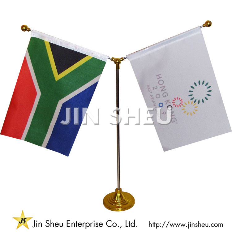 Double Friendship Table Flags - Double Friendship Table Flags