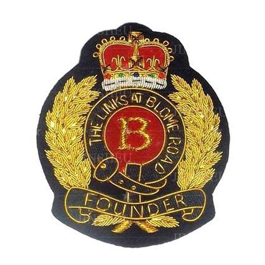 Custom Made Blazer Badges/ Bullion Badges
