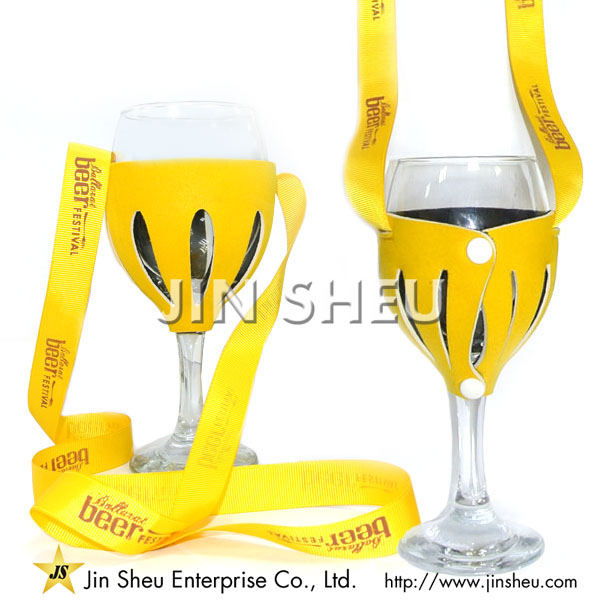 Neoprene Wine Glass Holders