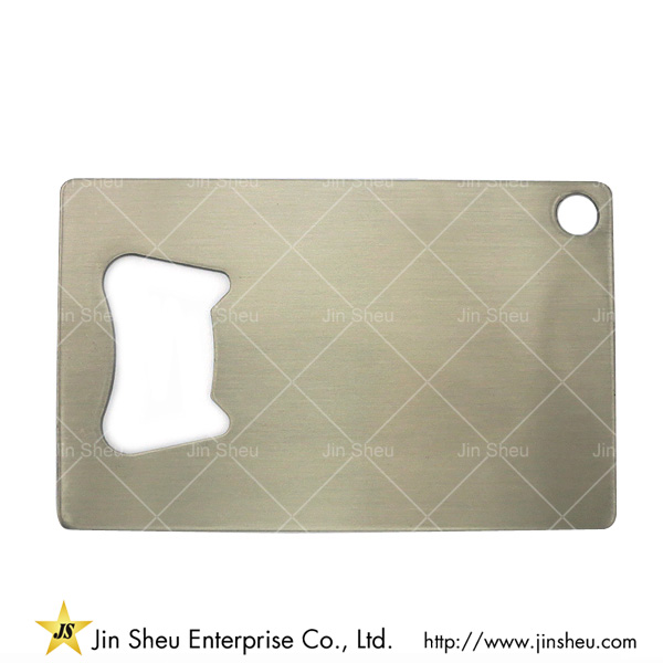 Business Card Stainless Steel Bottle Openers | Promotional