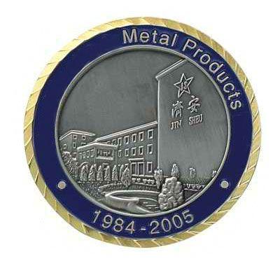 Custom Coin Diamond Cut Border