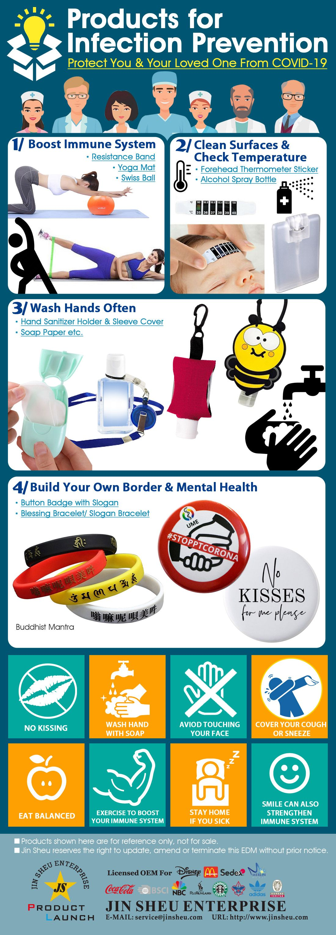 Products for Infection Prevention